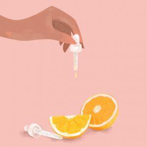 Vitamin C có trong cam
