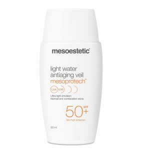 Kem chống nắng cho da dầu mụn Mesoestetic Light Water Antiaging Veil