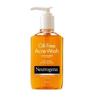 Sữa rửa mặt BHA Neutrogena Oil-Free Acne Wash