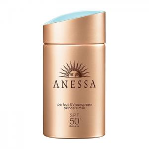 Kem chống nắng có finish đẹp Anessa perfect UV sunscreen skincare milk