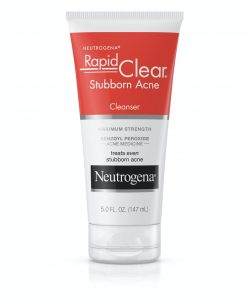 Sản phẩm Benzoyl Peroxide - Neutrogena Rapid Clear Stubborn Acne Cleanser