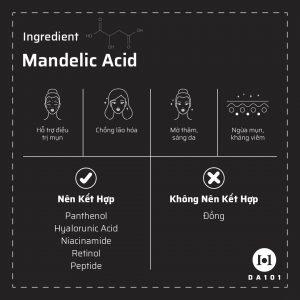 Công dụng của Mandelic Acid