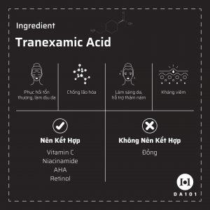 Hướng dẫn sử dụng Tranexamic Acid