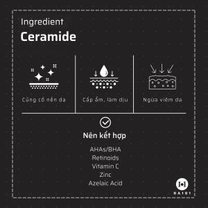Ceramide là gì? Tác dụng của Ceramide với làn da