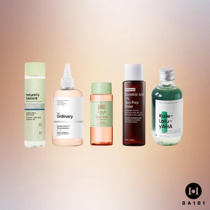 Top 5 Sản phẩm AHA tẩy da chết hóa học an toàn cho người mới bắt đầu